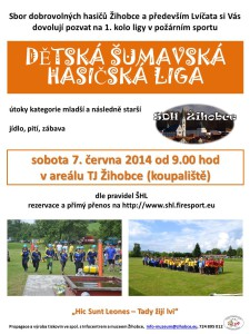 pozvánka ŠHL 2014
