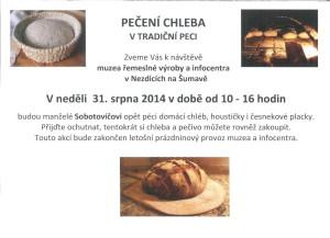 Pečení chleba v Nezdicích