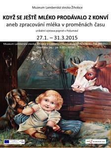 plakát mléko
