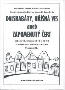 plakát Staršín divadlo