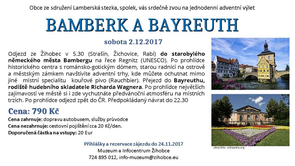 BAMBERK A BAYREUTH