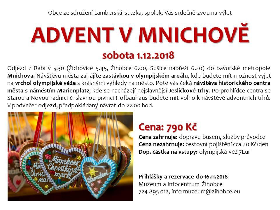 Advent v Mnichově